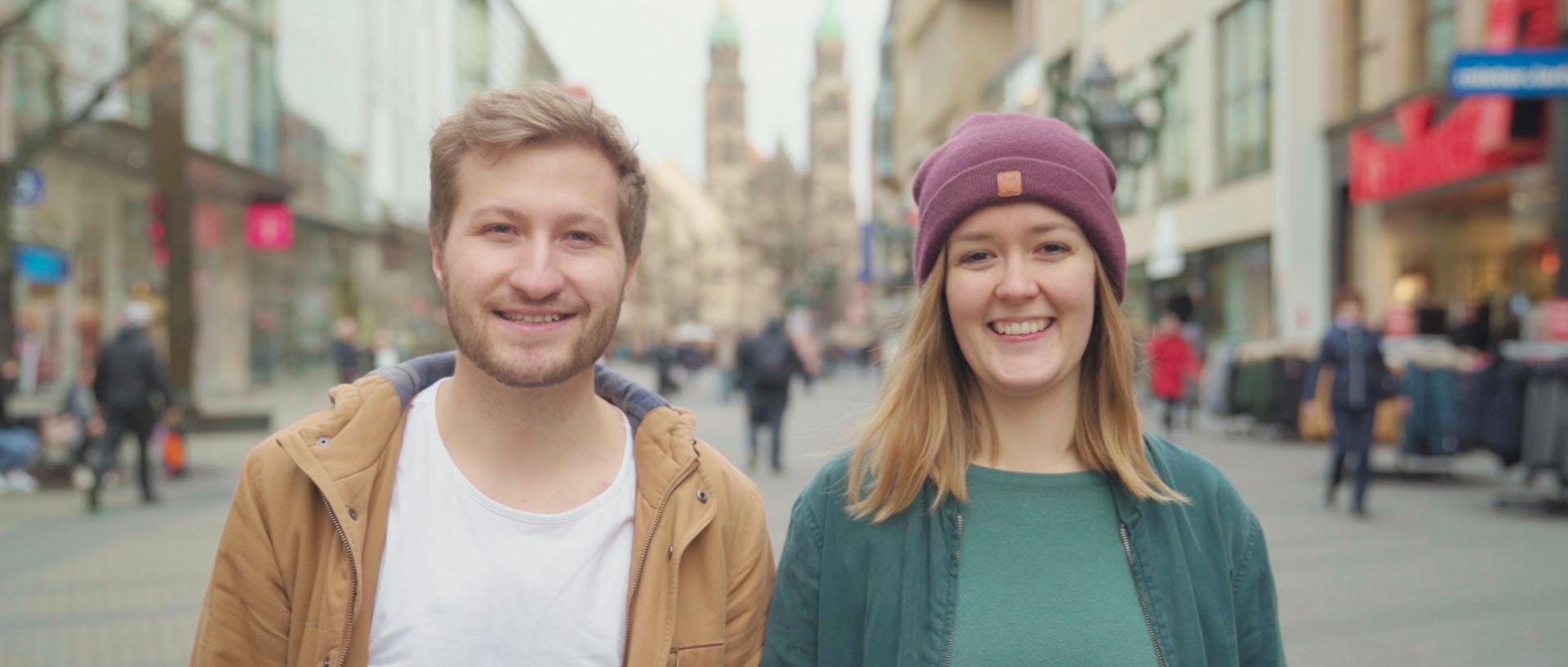 Sarah und Jonathan Nürnberg